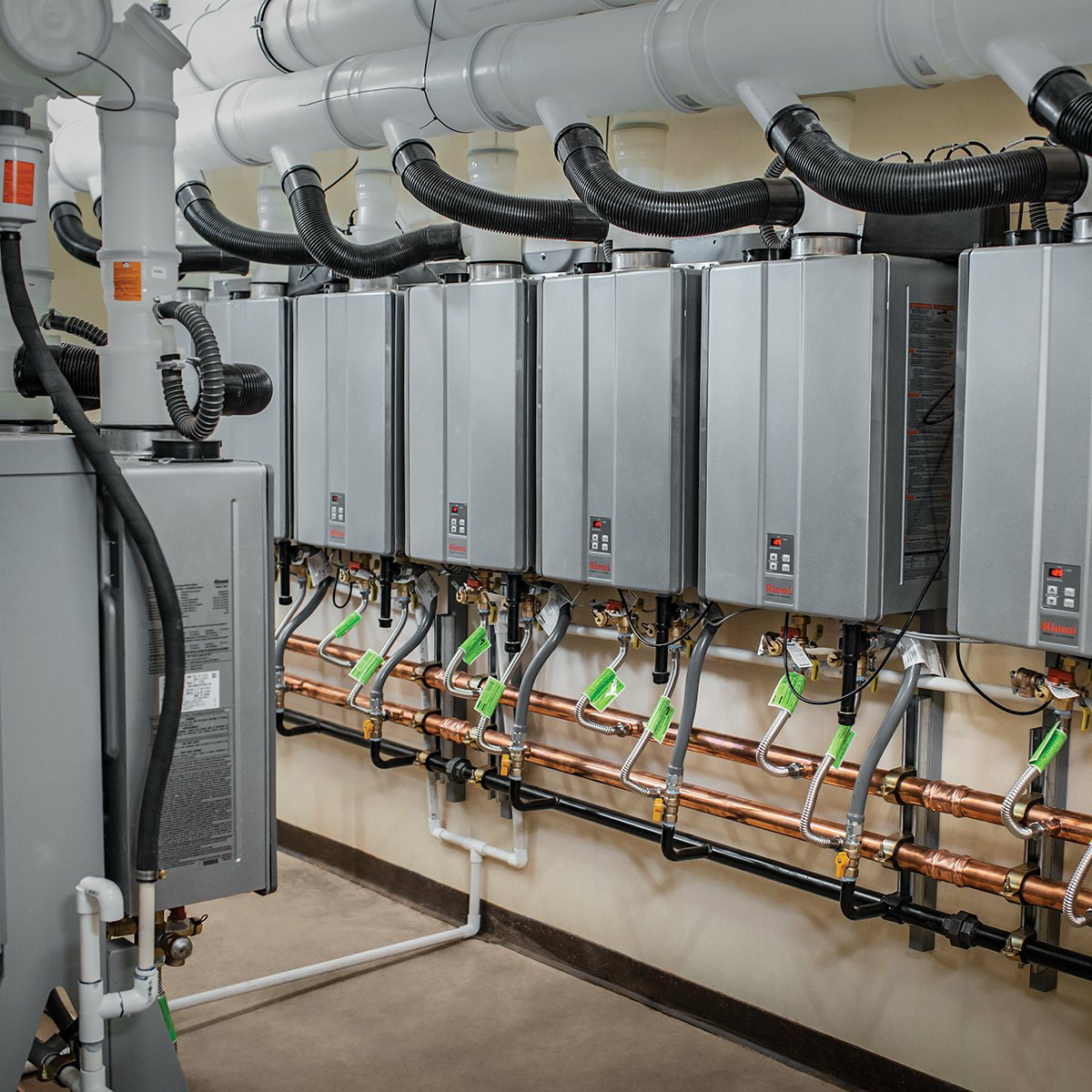 Rinnai Commercial Installations